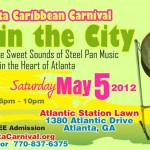 The Sounds of Sweet Steel Pan Music in the Heart of Atlanta!