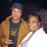 RCS correspondent Red Velvet Sandy pictured with Shaggy