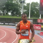 YohanBlake-Winner Men100m
