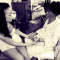 "Rihanna with her late grandmother Ciara ""Dolly"" Brathwaite"