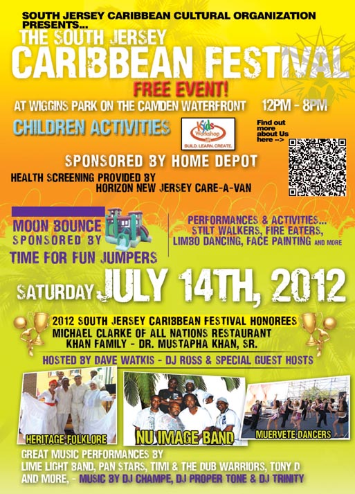 12th Annual South Jersey Caribbean Festival - July 14, 2012