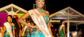 Trevecia Adams of St. Kitts Crowned Miss Caribbean Culture 2012 at Nevis Culturama