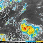 Tropical Storm Isaac Threatens Eastern Caribbean