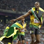Triple Olympic Glory for Jamaica as Usain Bolt and Teammates Sweep 200m