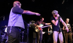 Richie Stephens and Gentleman performing in NYC recently