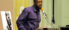 "Wyclef Jean is currently promoting his new book ""Purpose:  An Immigrant's Story"""
