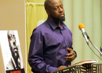 "Wyclef is currently on a book tour promoting his memoir ""Purpose: An Immigrant's Story"""