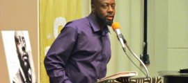 Wyclef Jean at Atlanta Book signing 2012 PHOTO: RedCarpetShelley.com