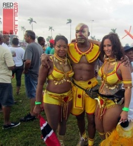 Mas Camp members Miami Broward Carnival 2011