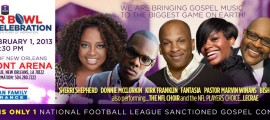 SUPER BOWL GOSPEL CELEBRATION BANNER