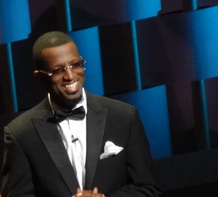 Comedian Rickey Smiley
