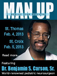 "World Renowned Neurosurgeon Dr. Ben Carson is Keynote Speaker for ""Man-Up"""