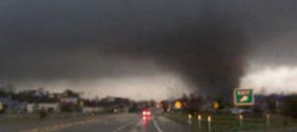 Tornado hits Hattiesburg, Miss.