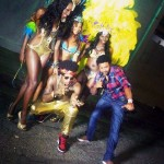 TRINIDAD CARNIVAL – Machel, Pitbull, Shaggy and Trinidad James at Machel Monday