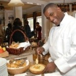 Jamaican Celebrity Chef Delroy Shares Recipe for Pan Roasted Curry Shrimp with Steamed Jasmine Rice