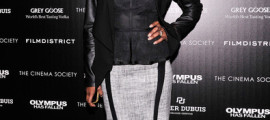 Angela Bassett strikes a pose at the NYC premiere of 'Olympus Has Fallen'