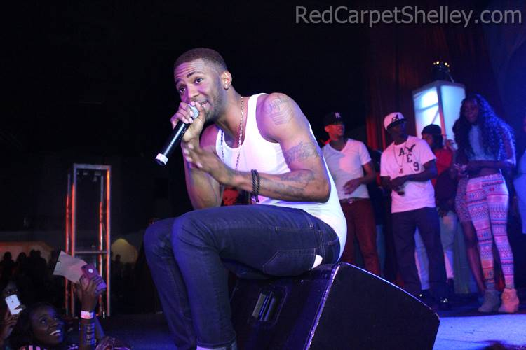 Konshens Performs in Atlanta