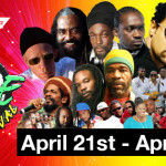 2013 Digicel Barbados Reggae Festival April 21 through April 28