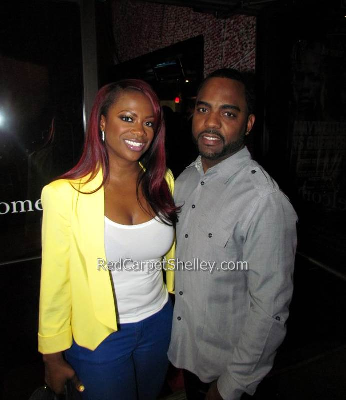 Kandi Burruss and fiance Todd Tucker attend Benzino's Love & Hip Hop Season 2 Premiere Party