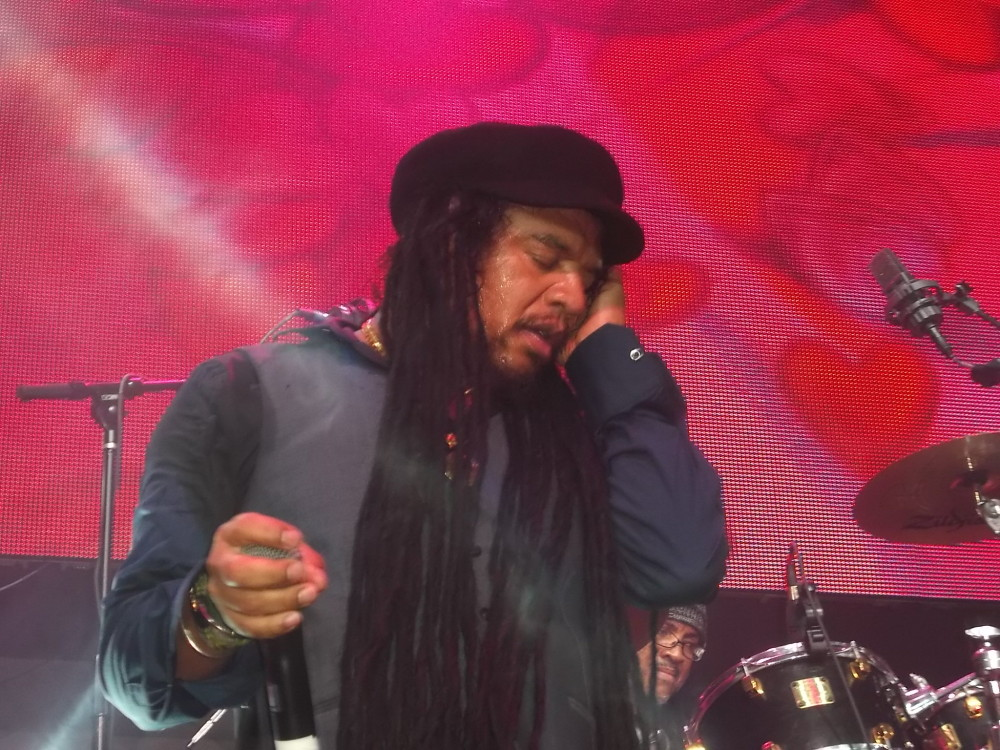 Maxi Priest performs on Easter Sunday in NYC