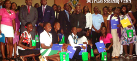 PALAS 2012 Scholarship Recipients