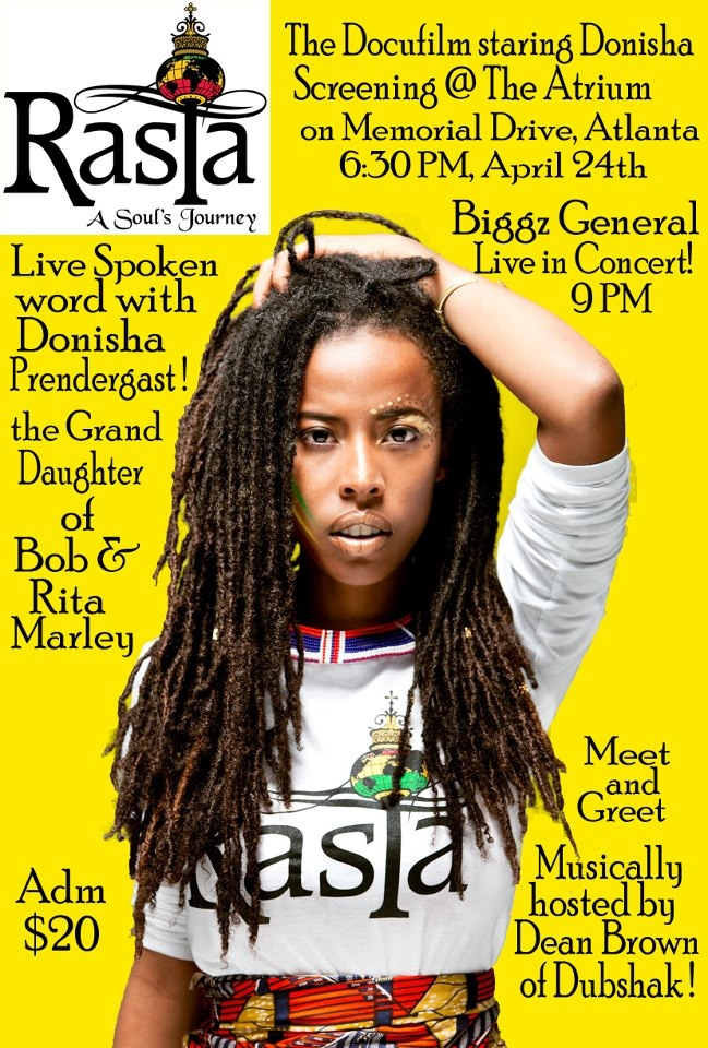 Atlanta an evening with the marleys meet and greet with bob rasta a souls journey m4hsunfo