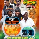 GROOVIN IN THE PARK 2013 ANNOUNCED FOR  SUN. JUNE 30 AT ROY WILKINS PARK