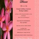 Georgia Caribbean American Heritage Coalition present A Mother's Day Dinner