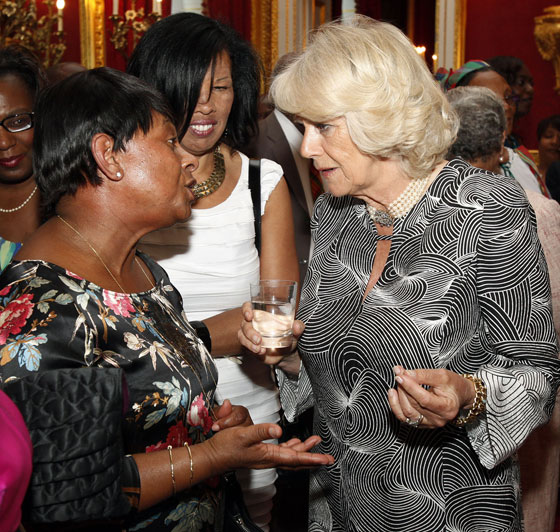 The Duchess of Cornwall at the British Caribbean Reception