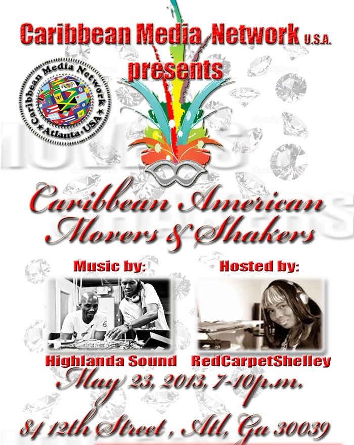 Caribbean Movers & Shakers May 23, 2013