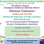 June is National Caribbean American Heritage Month – Georgia Events