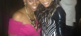 Co-Producer Syn Dawkins and Reality TV Star Yandy Smith