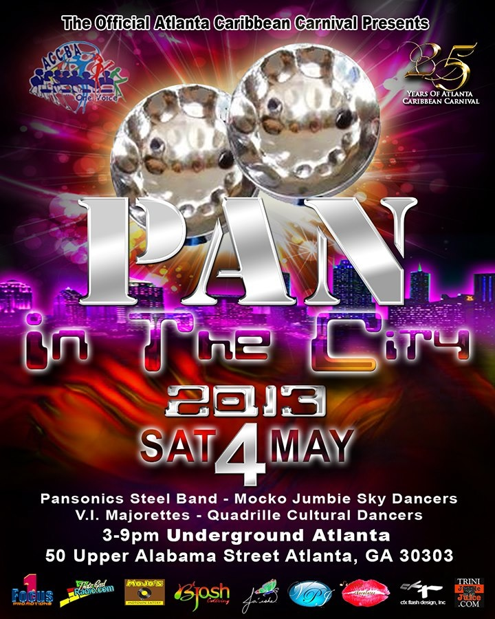 Pan in the City - May 4, 2013; Atlanta Caribbean Carnival