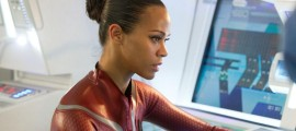 Zoe Saldana in Star Trek Into Darkness