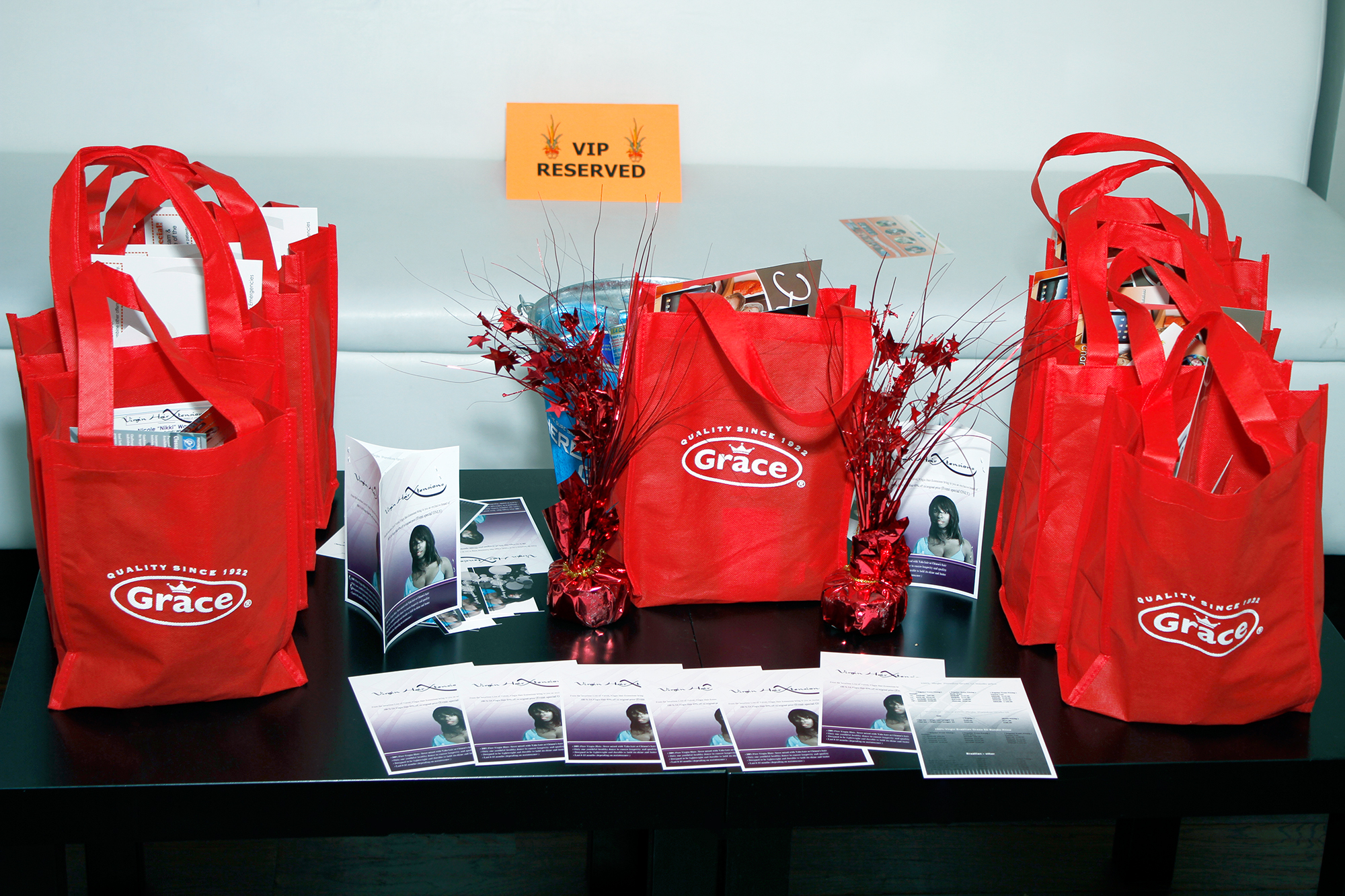 Attendees enjoyed swag bags filled with goodies