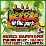 Beres Hammond, Tarrus Riley and More 'Reggae In The Park' Philly's Premiere Summer Reggae Festival