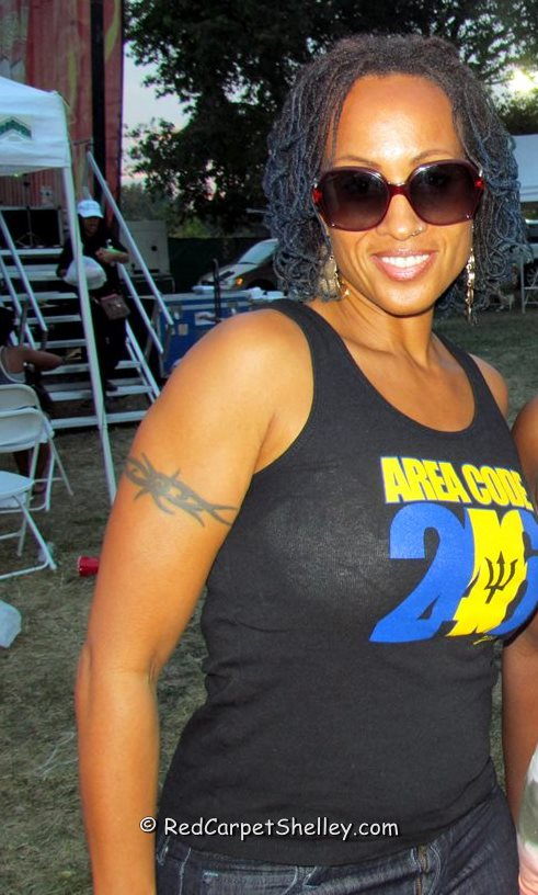 Alison Hinds at Grace Jamaican Jerk Festival in NYC
