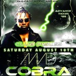 Dancehall Star Mad Cobra Coming to Atlanta August 10 – TICKETS AVAILABLE