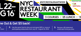 nycrestaurrant week