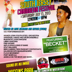 13th Annual South Jersey Caribbean Festival Returns to Wiggins Park on July 13, 2013
