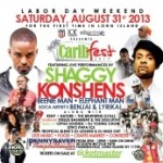 Long Island Carib Fest 2013, Sat. Aug. 31 – Featuring Shaggy, Beenie Man, Konshens