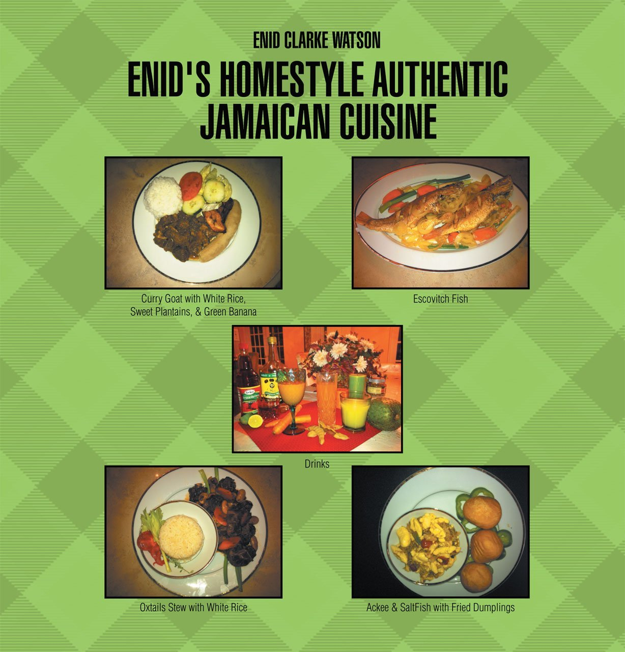 Enid 39 s homestyle jamaican cooking to be featured at the for Authentic cuisine