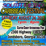 Atlanta South Metro Caribbean Festival-Saturday, August 24, 2013 1PM – 8PM – FREE