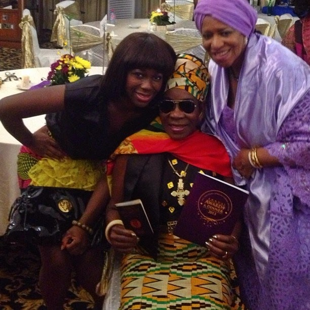 Rita Marley is now an honorary citizen of Ghana