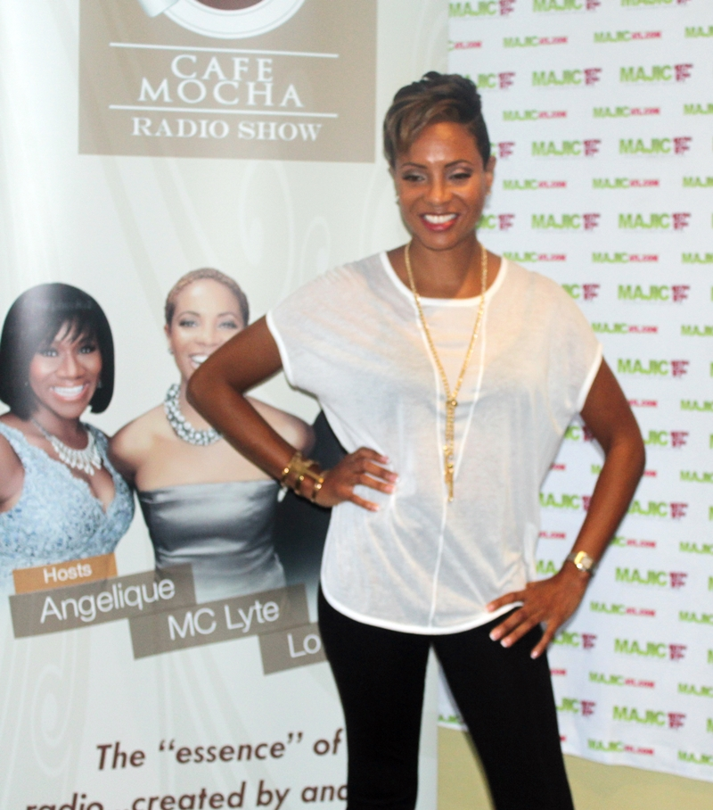 MC Lyte Launches 'Cafe Mocha' in Atlanta market