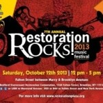 Brooklyn's Restoration Rocks Music Festival  – FREE Concert with Big Daddy Kane, DJ Questlove and Chrisette Michelle
