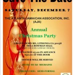 The Atlanta Jamaican Association Annual Christmas Party – Sat. Dec. 7