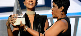 Rihanna receives first-ever AMA Icon Award from her mom