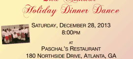 Virgin Islands Association of Georgia Presents 2nd Annual Holiday Dinner Dance