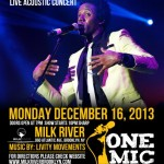 FINAL ONE MIC 'the Artistic Movement' for 2013 Features Romain Virgo on December 16 in Brooklyn
